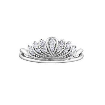 Diamond Tiara Ring