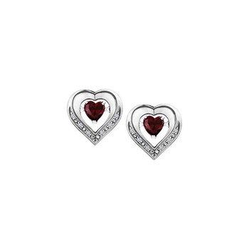 Silver Pulse Earrings