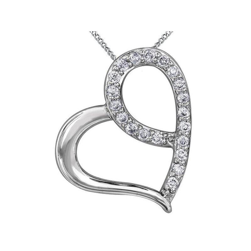 Diamond Days Heart Diamond Pendant