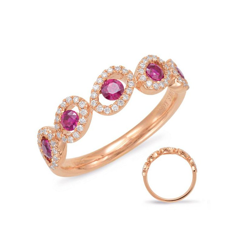 S.KASHI Ruby & Diamond Ring
