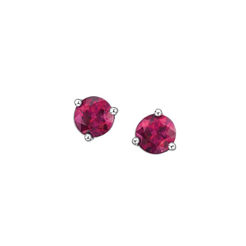 Diamond Days Pink Topaz Studs