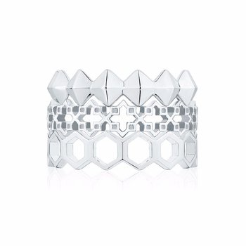 Silver Stackable Muse Ring