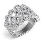 S.KASHI White Gold Diamond Ring