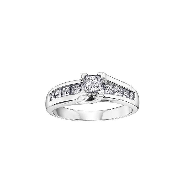 Diamond Days Princess-Cut Diamond Engagement Ring