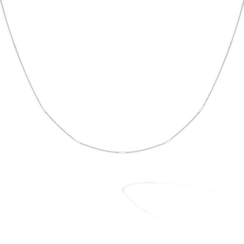 Bijoux Birks BIRKS ICONIC Silver Rosée Du Matin Necklace