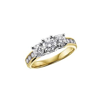 2.00CTW Three Stone Ring