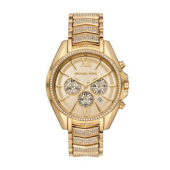 Whitney Chronograph Pavé & Gold-Tone Watch