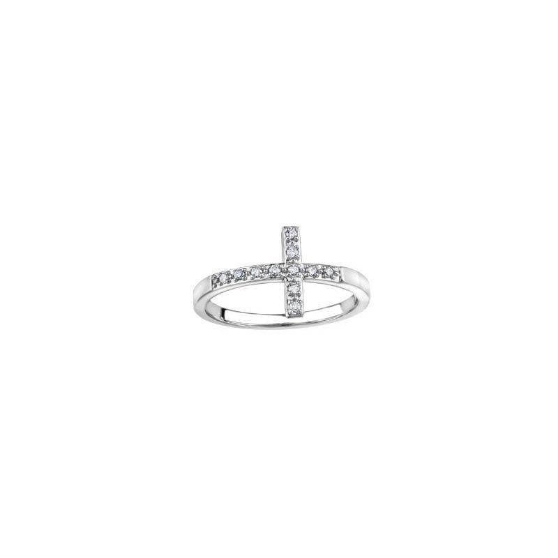 Diamond Days Cross Diamond Ring