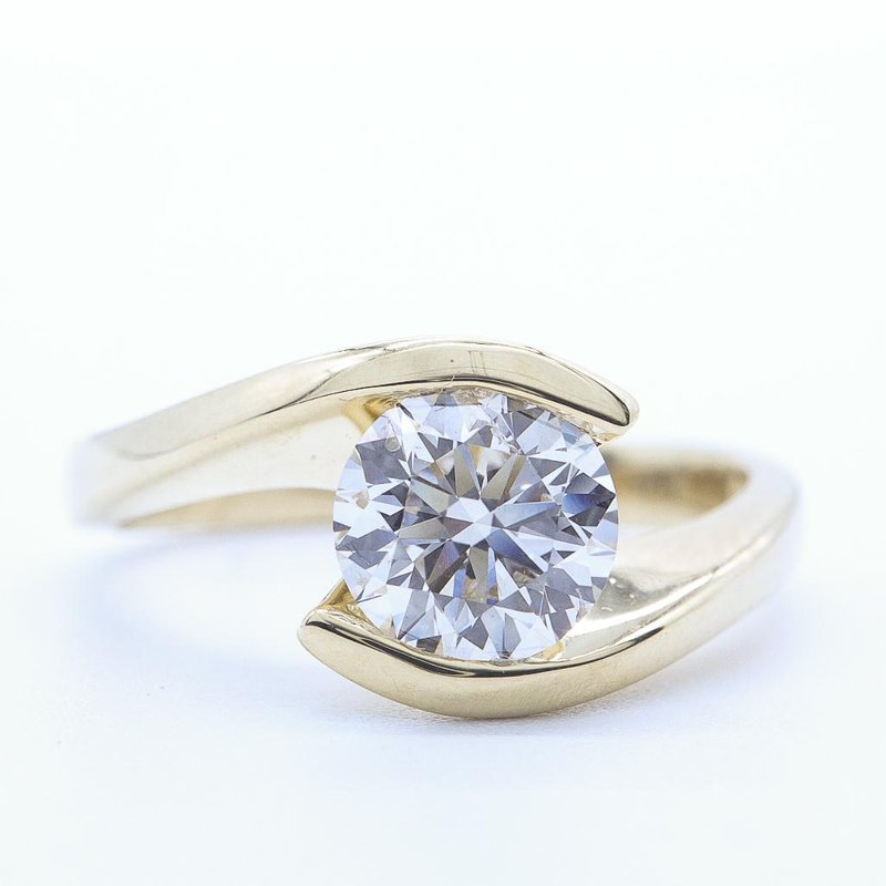 Maple Leaf Diamonds 0.70CT Solitaire Ring
