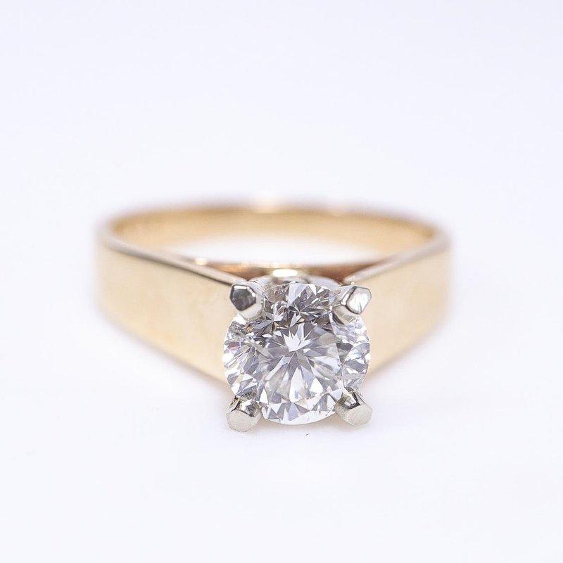 Diamond Days Classic Solitaire Diamond Ring