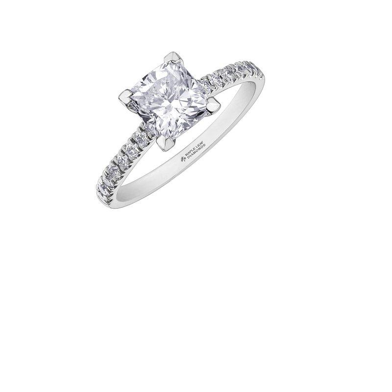 Maple Leaf Diamonds Princess-Cut Diamond Ring