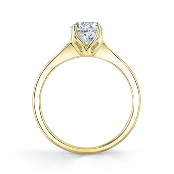 Yellow Gold Canadian Diamond Ring