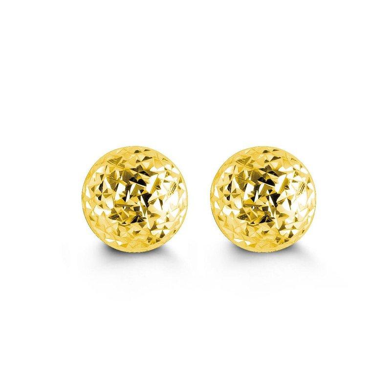 Richardson Signature Yellow Gold Ball Studs