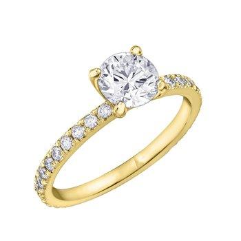 2.00CT Round Diamond Ring