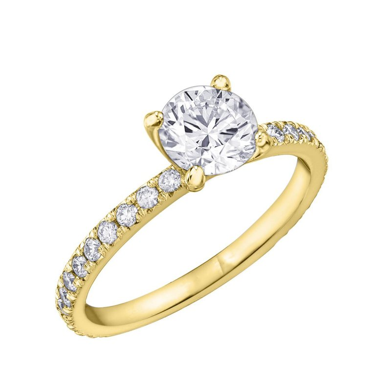 Richardson Signature 2.00CT Round Diamond Ring