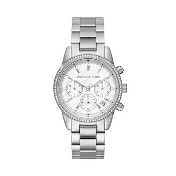 Ritz Chronograph Silver-Tone Watch