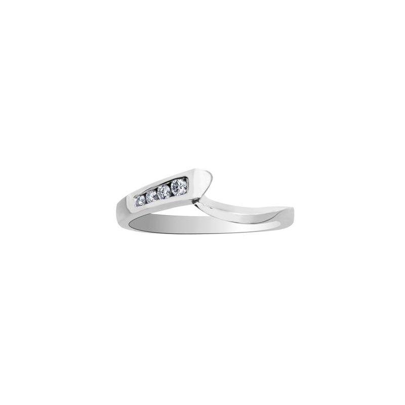 Maple Leaf Diamonds Matching Wedding Band
