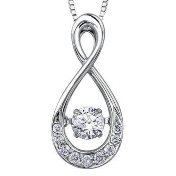 Diamond Pulse Pendant