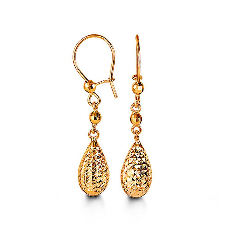 Richardson Signature Yellow Gold Dangles
