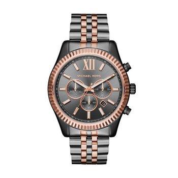 Lexington Chronograph Gunmetal/ Rose-Tone Watch