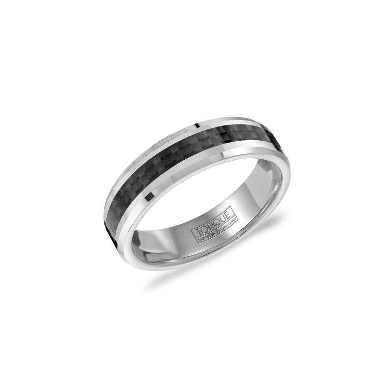 Torque Tungsten & Carbon Fiber Inlay Band
