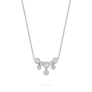 SPLASH- Diamond Small Drop Necklace