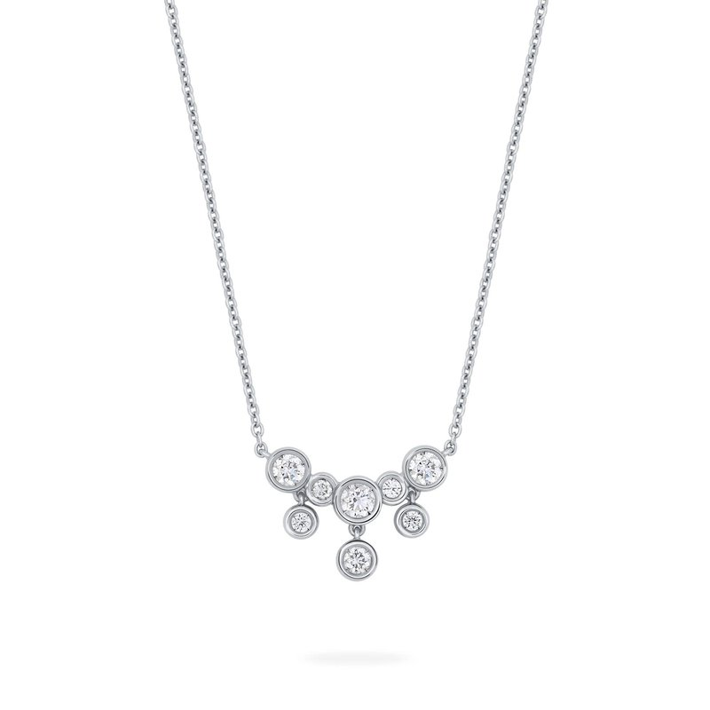 BIRKS SPLASH- Diamond Small Drop Necklace