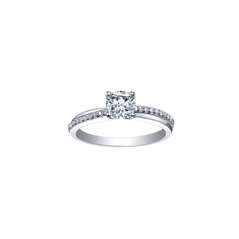 Maple Leaf Diamonds Canadian Diamond Engagement Ring