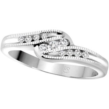 White Gold Promis Ring
