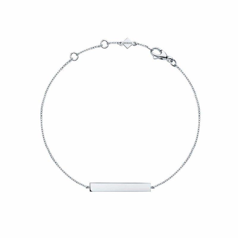Bijoux Birks BIRKS ESSENTIALS Silver Horizontal Bar Bracelet