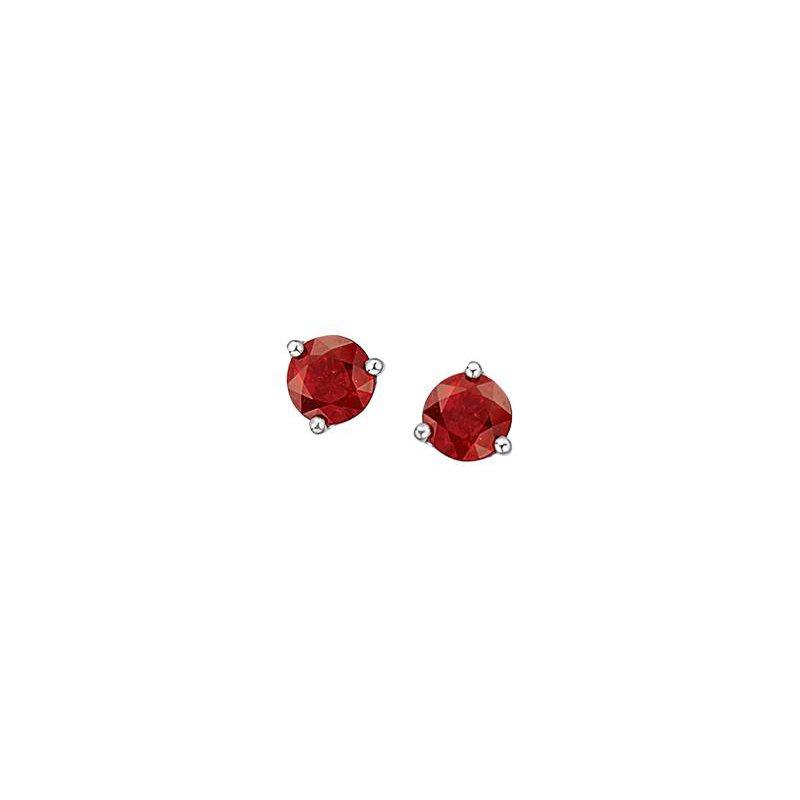 Diamond Days Ruby Studs