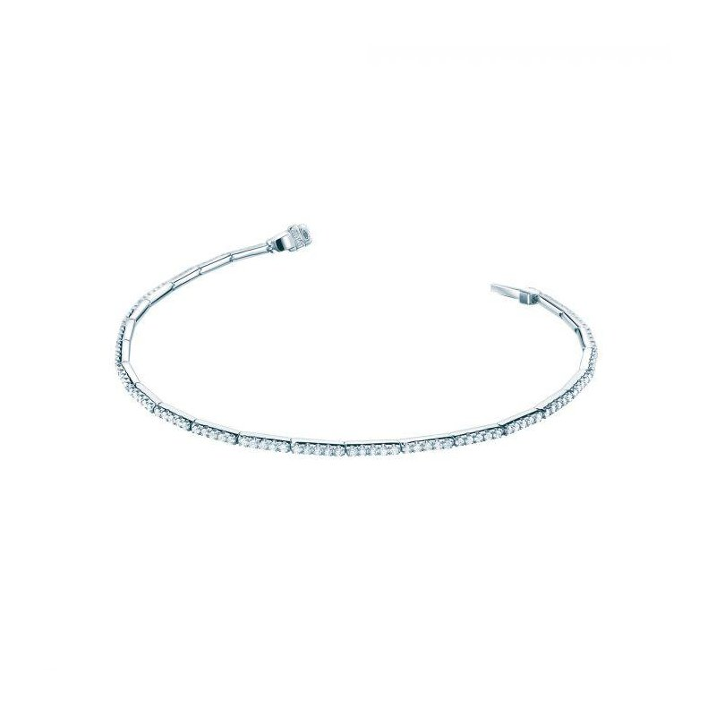 Bijoux Birks BIRKS ROSÉE DU MATIN ® White Gold and Diamond Line Bracelet