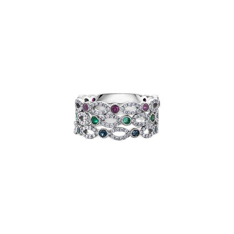 Diamond Days Ruby & Diamond Ring