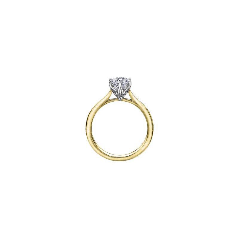 Maple Leaf Diamonds 1.51CT Solitaire Ring