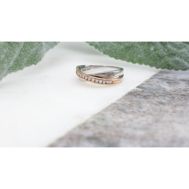 Diamond Days Two-toned Diamond Ring