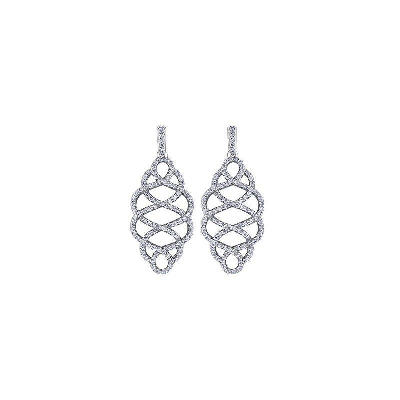 Diamond Days Diamond Dangle Earrings