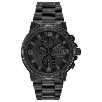 Men's Eco-Drive Watch- Nighthawk