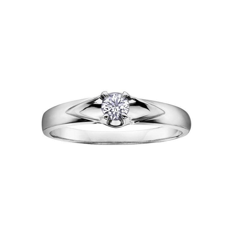 Diamond Days White Gold Promise Ring