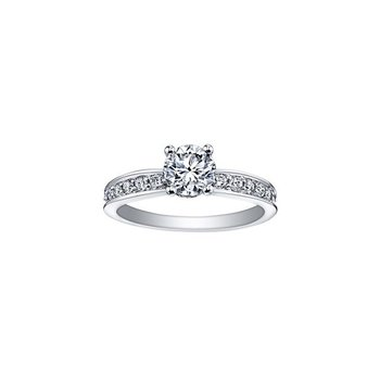Circle of Love Engagement Ring