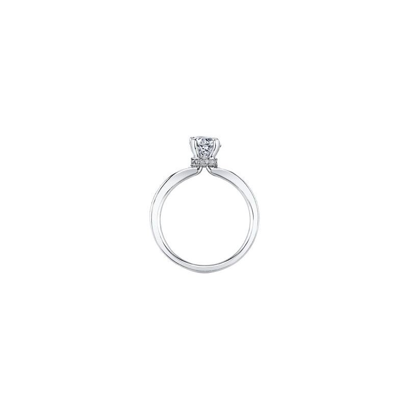 Maple Leaf Diamonds Circle of Love Engagement Ring