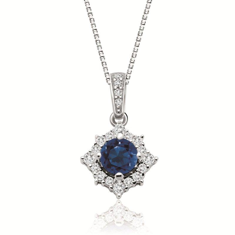 Diamond Days Sapphire & Diamond Pendant