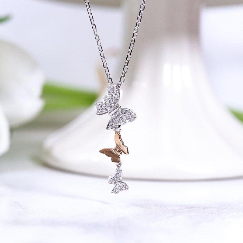 Richardson Signature Butterfly Diamond Pendant