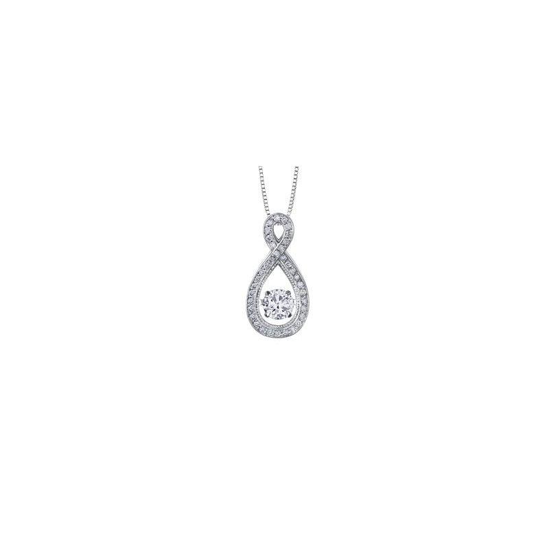 Diamond Days Pulse Diamond Drop Pendant