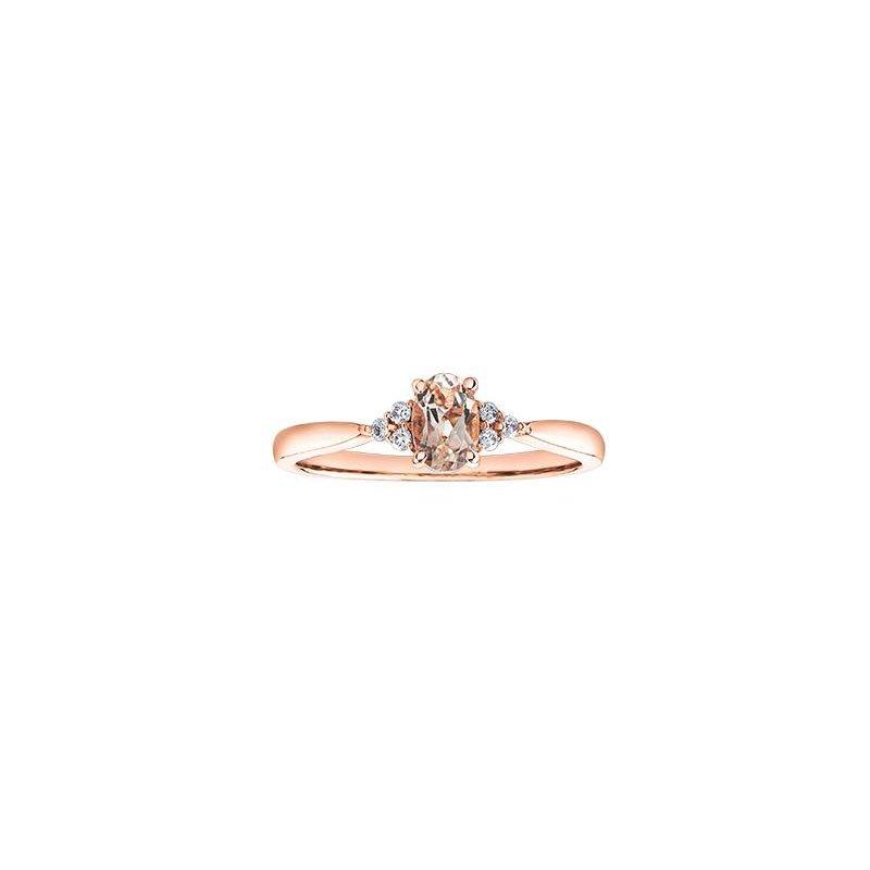 Diamond Days Morganite Ring