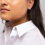 BIRKS SPLASH- Diamond Cluster Earrings