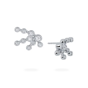 SPLASH- Diamond Cluster Earrings