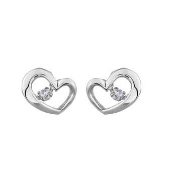 Pulse™ Heart Earrings