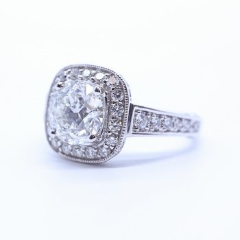 2.01CT Diamond Engagement Ring