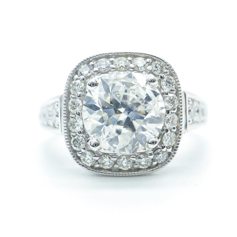 Richardson Signature 2.01CT Diamond Engagement Ring