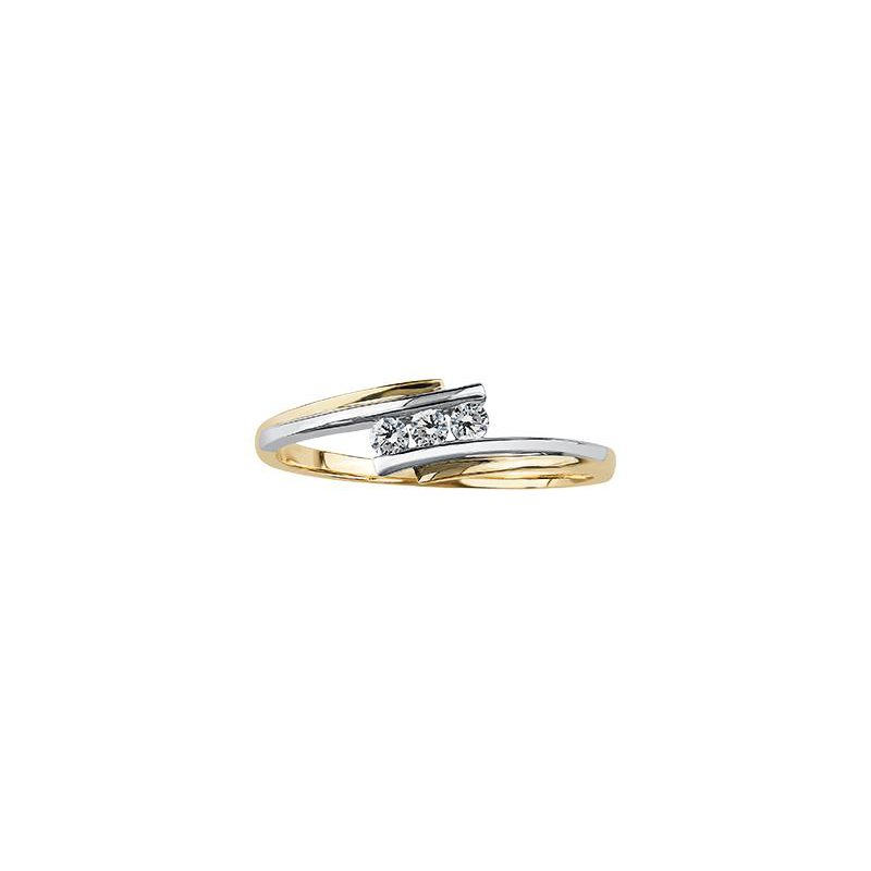 Diamond Days Three Stone Promise Ring